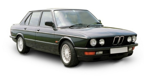 BMW 5-Series Szedán 1981 - 1987