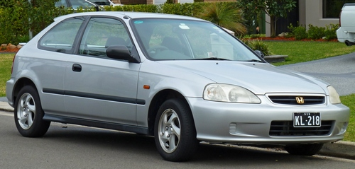 Honda Civic Hatchback 2000 - 2005