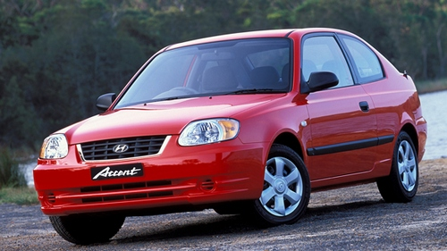 Hyundai Accent Hatchback 2000 - 2005