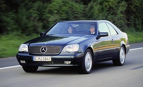 Mercedes-Benz CL Cupé 1992 - 1999