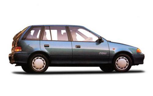 Subaru Justy Hatchback 1986 - 1996
