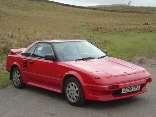 Toyota MR2 Cupé 1985 - 1990